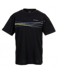 TECNIFIBRE Camiseta Cotton Polo Negra