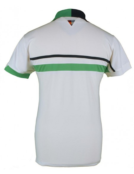 VARLION Polo Revival Blanco Verde