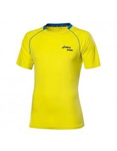 ASICS Camiseta Pádel amarilla CB