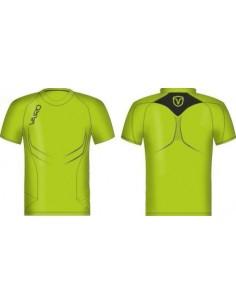 VAIRO Camiseta Columns Verde