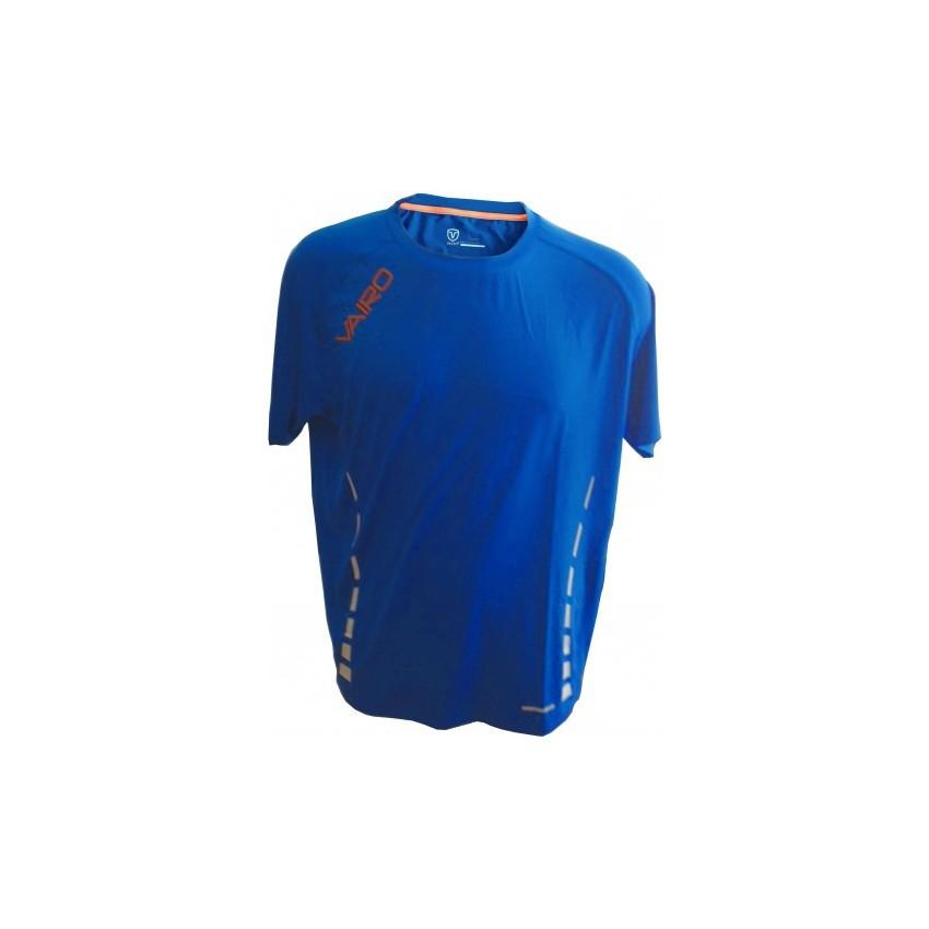 VAIRO Camiseta Columns Azul