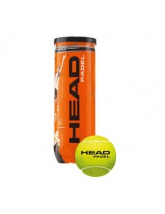 HEAD Bote de 3 bolas Head Padel