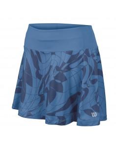 WILSON Falda Mujer Art Azul