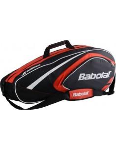 Bolsa Babolat Club Racket Holder X6 Line Raquetero - Rojo