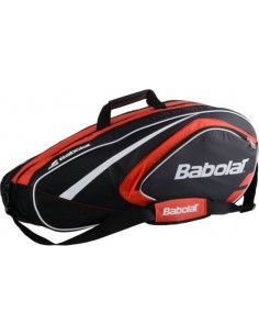 Babolat Club Racket Holder X12 Line Raquetero - Rojo