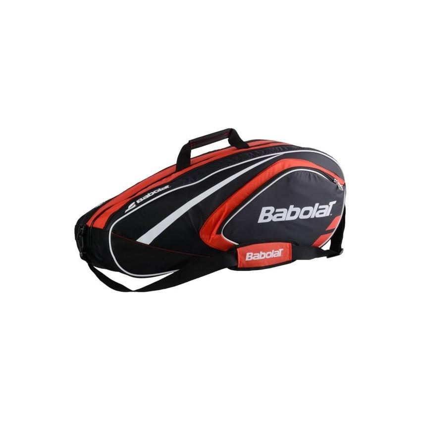 Babolat Club Racket Holder X12 Line Raquetero - Rojo