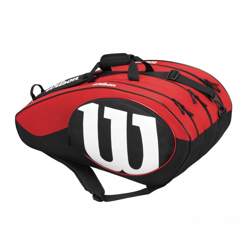 Raquetero Wilson Match II X12