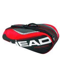 Raquetero HEAD Tour Team 6R Combi Negro/Rojo
