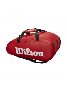 Raquetero Wilson Tour 3 Comp Rojo