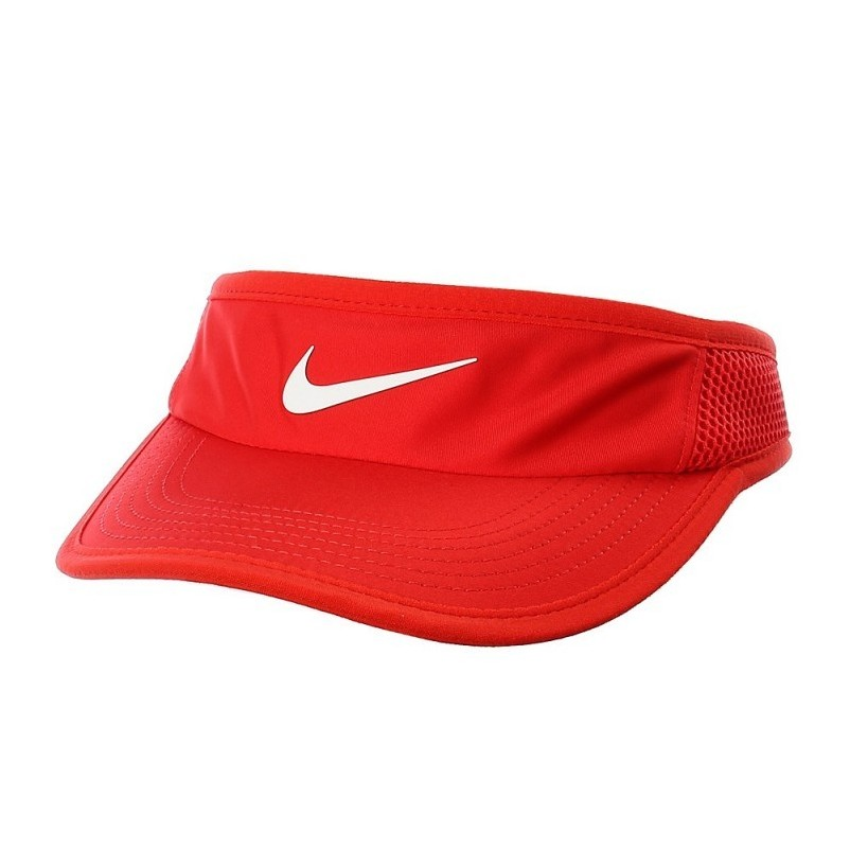 Visera Nike Featherligth Tennis Roja