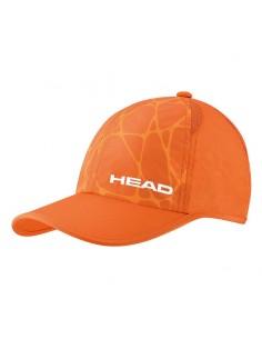 GORRA HEAD  LIGHT FUNCTION CAP NARANJA