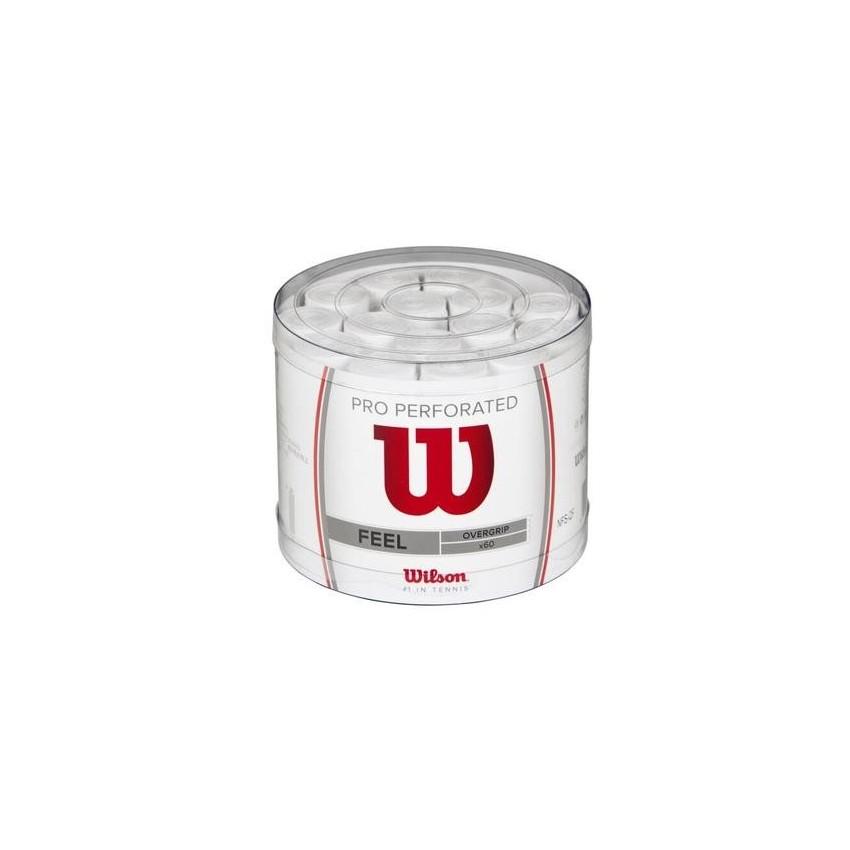 Wilson Overgrips Pro Blanco Perforado x60