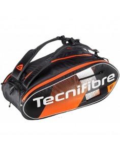 Raquetero Tecnifibre Air Endurance X12 Negro, Naranja