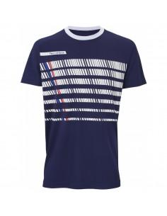Camiseta Tecnifibre F2 Navy Blanc