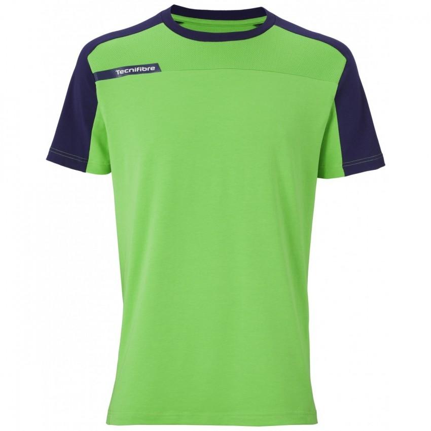 Camiseta Tecnifibre F1 Stretch Green Junior