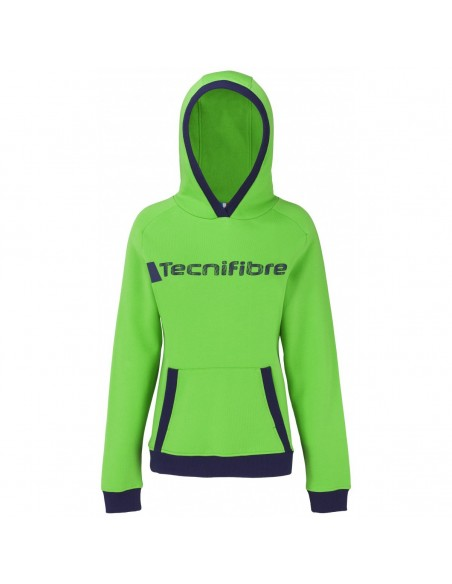 Sudadera Tecnifibre Hoodie Green Lady