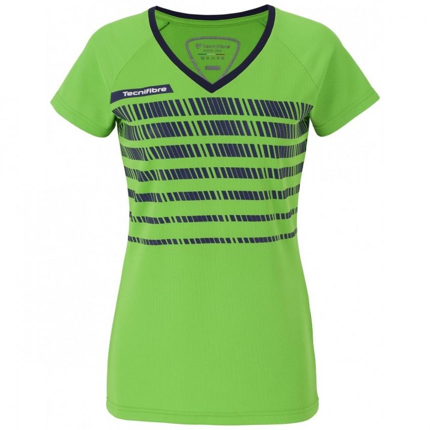 Camiseta Tecnifibre F2 Green Lady