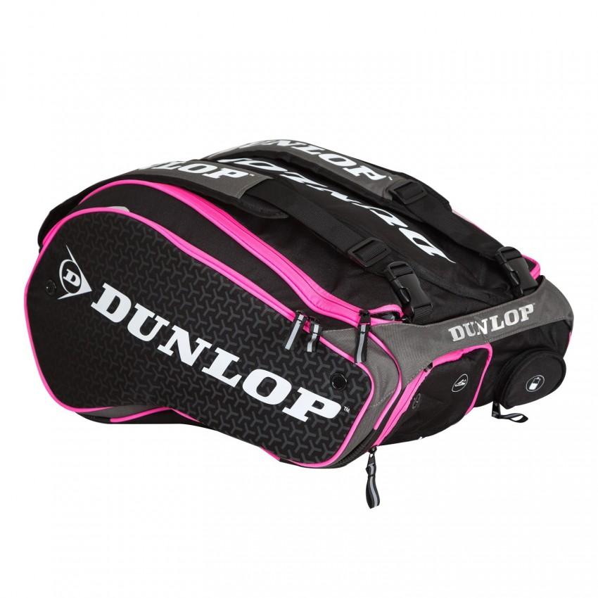 Paletero Dunlop Padel Elite Black/Pink