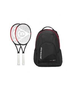 Pack de 2 raquetas Dunlop...