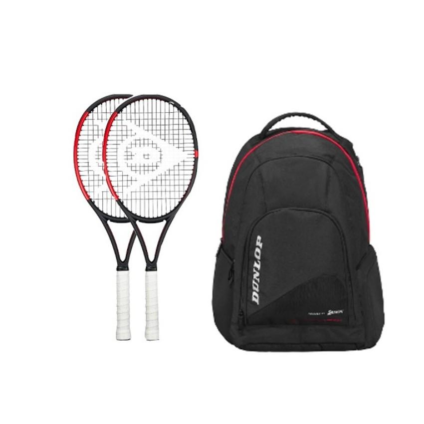 Pack de 2 raquetas Dunlop CX 400 +...