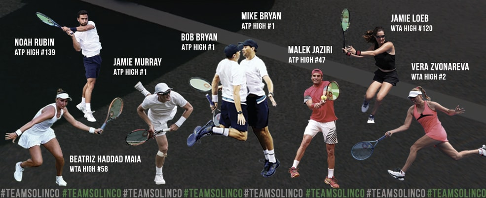 Cordajes solinco Team ATP
